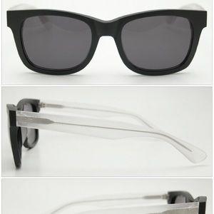 Filtrate Oxford raw Black Clear/Smoke lens